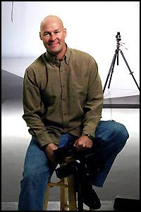 Daniel St.Pierre in St Pete photo studio