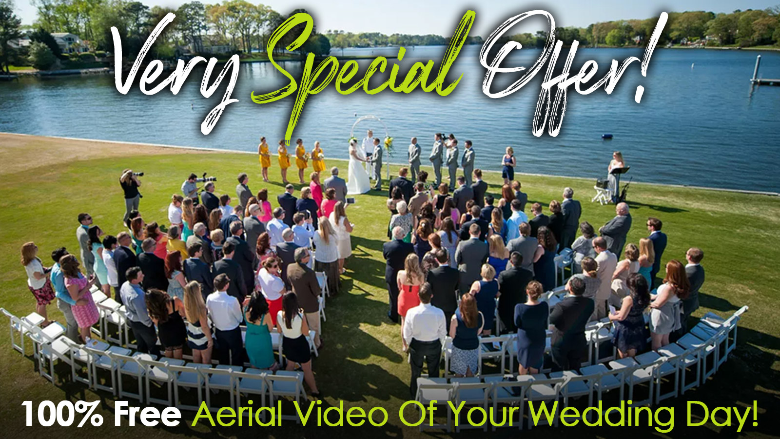 Free Drone Video Coverage For Weddings